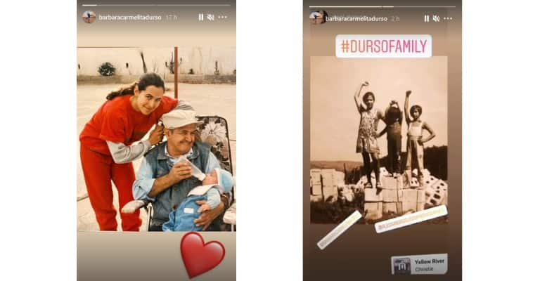 Barbara D'Urso Storie Instagram