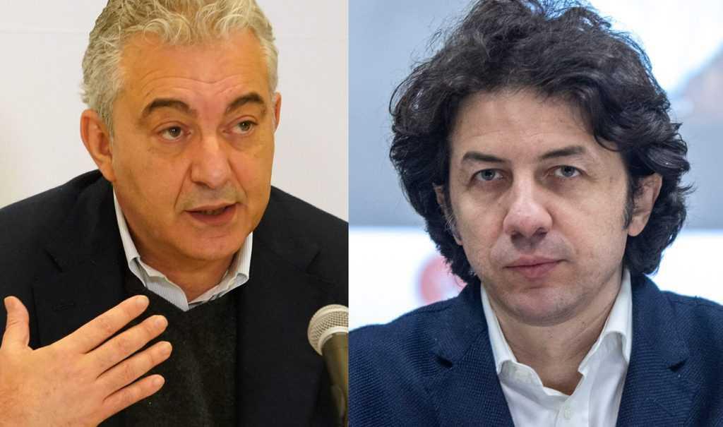 Commissario Arcuri e Marco Cappato
