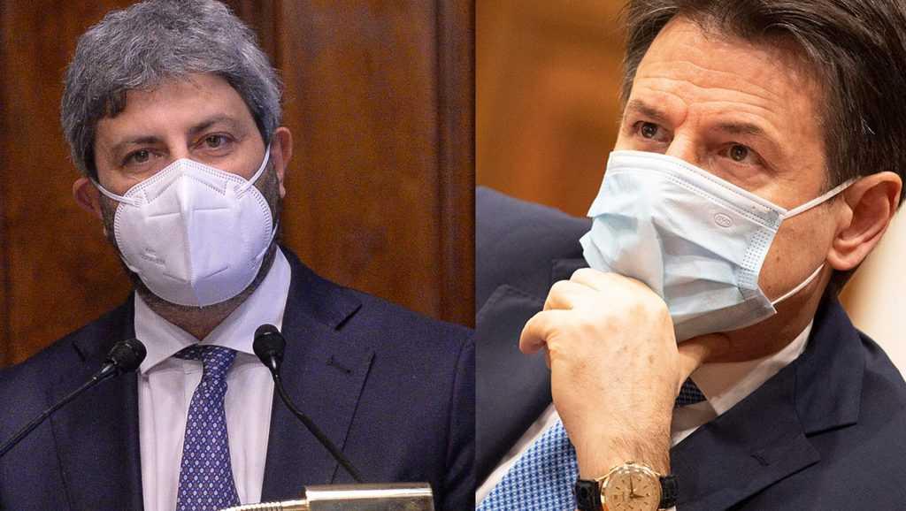 Roberto Fico e Giuseppe Conte