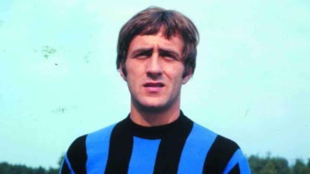 Mauro Bellugi negli anni Settanta con la maglia dell'Inter