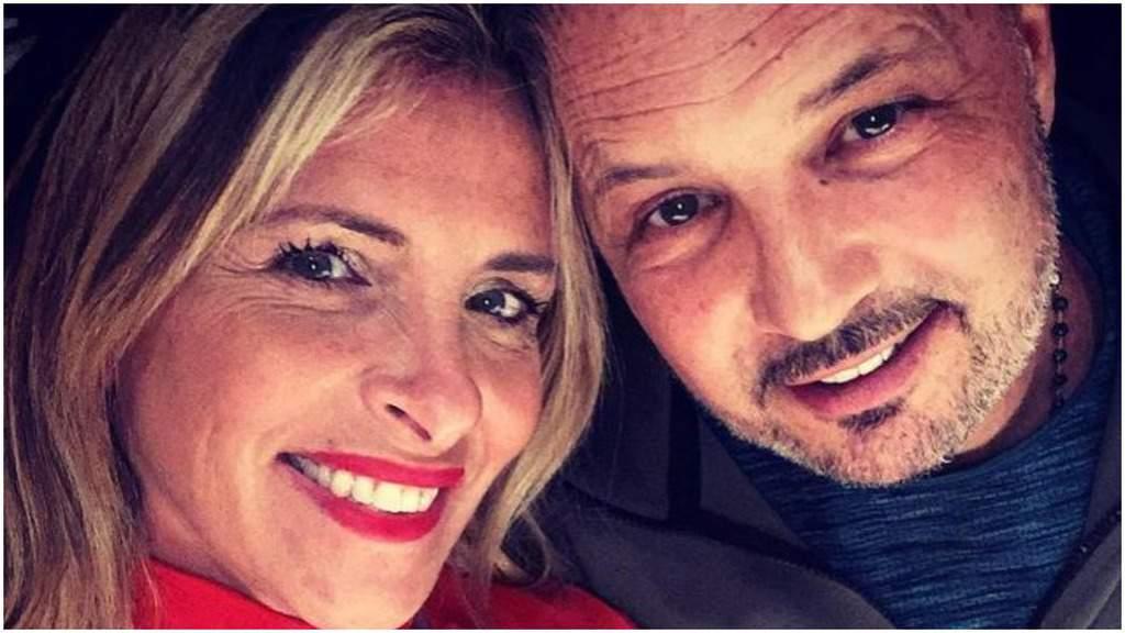 Mihajlovic insieme alla moglie