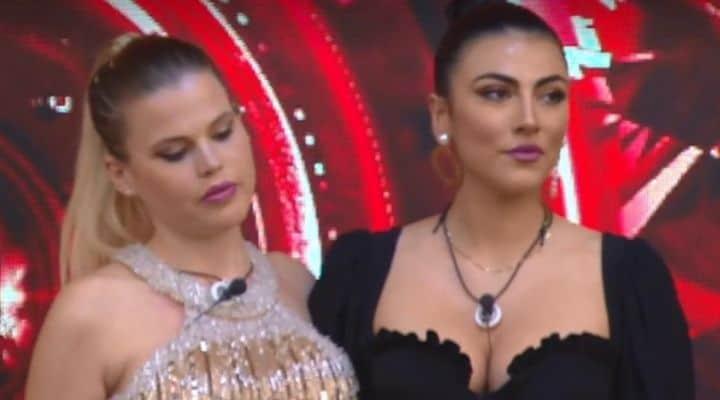 Carlotta Dell'Isola e Giulia Salemi al GF Vip