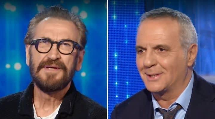 Marco Giallini e Giorgio Panariello a Domenica In