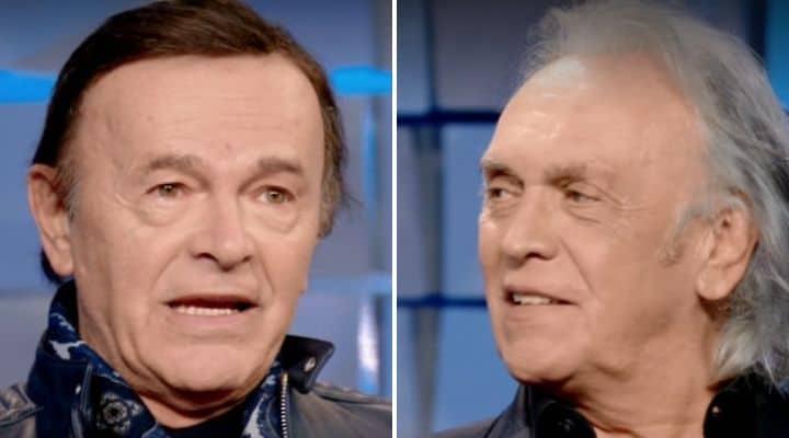 Dodi Battaglia e Riccardo Fogli a Verissimo