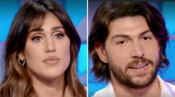Cecilia Rodriguez e Ignazio Moser a Verissimo