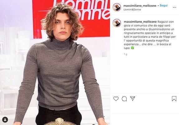 Massimiliano Mollicone su Instagram
