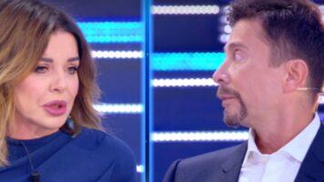 Alba Parietti e Riccardo Signoretti litigano in diretta a Live