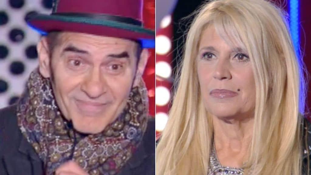 Francesco Baccini e Maria Teresa Ruta al GF Vip