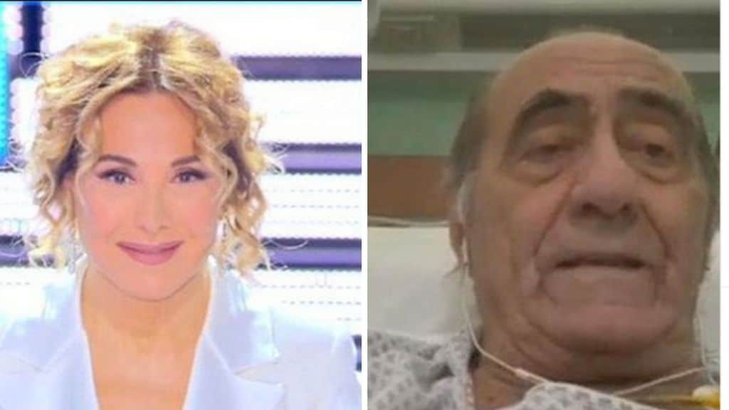 Barbara d'Urso e Mauro Bellugi in tv