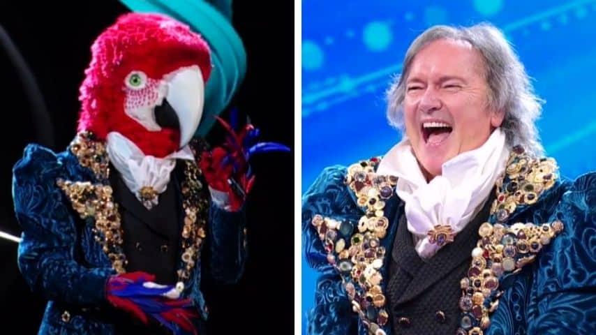Cantante Mascherato: Pappagallo è Red Canzian