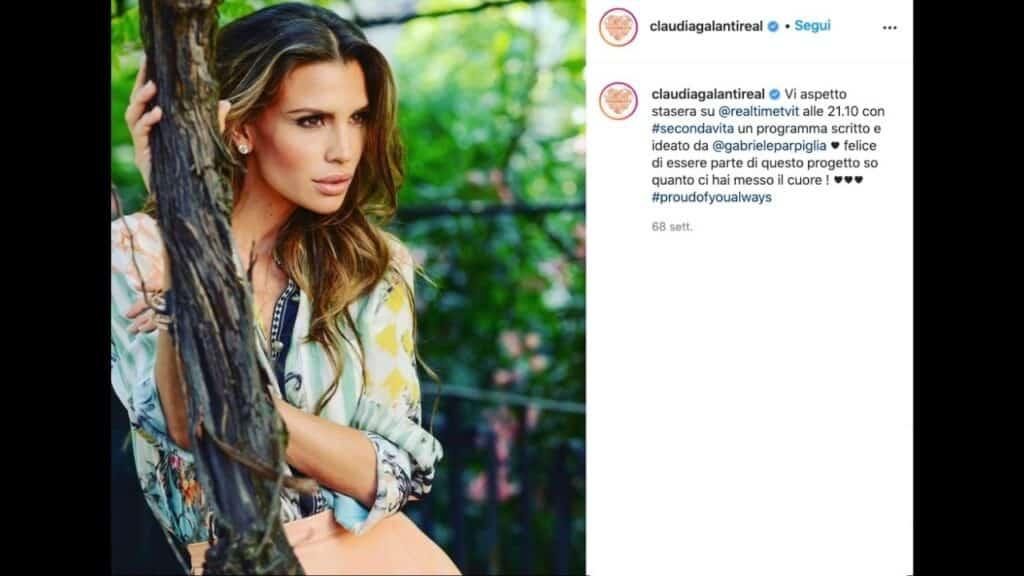 Claudia galanti, chi è la modella di origine paraguaiana