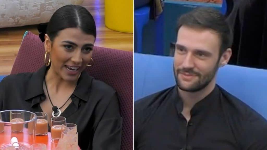Giulia Salemi e Andrea Zenga ospiti del GF Vip Late Show