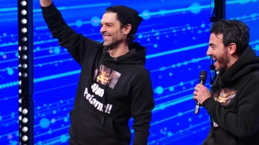 Gigi e Ross usciti dal Baby Alieno