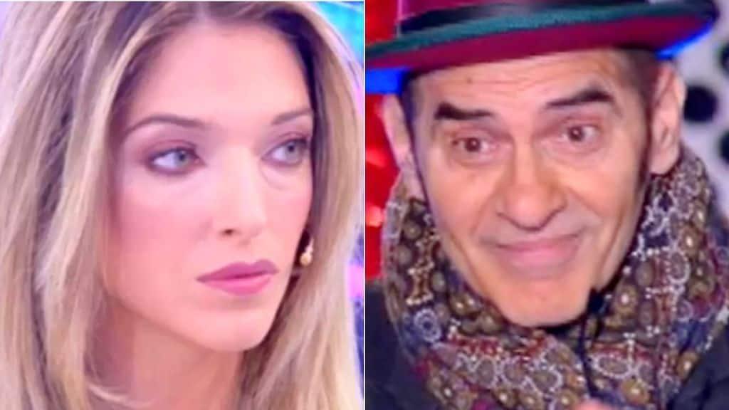 Guenda Goria furiosa contro Francesco Baccini
