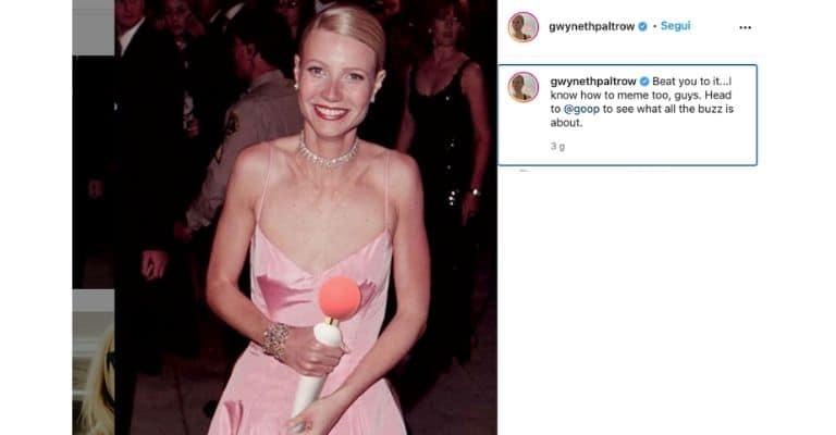 Il post di Gwyneth Paltrow sul suo nuovo vibratore Wand
