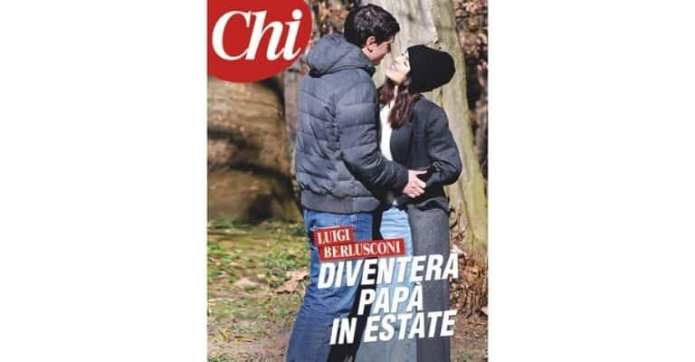 Luigi Berlusconi, figlio di Silvio, diventerà padre