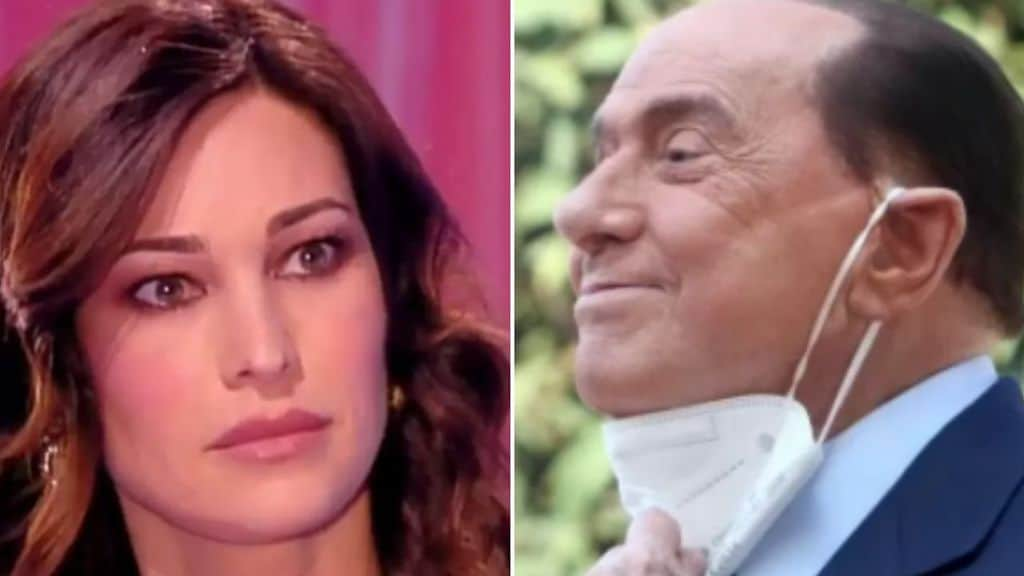 Manuela Arcuri e Silvio Berlusconi