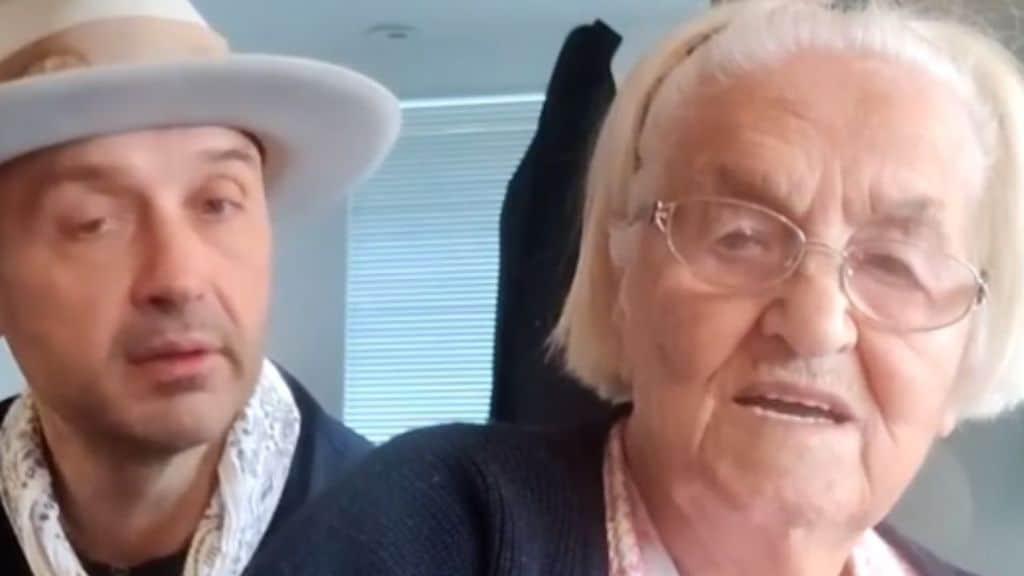Joe Bastianich e la nonna Erminia morta da poco