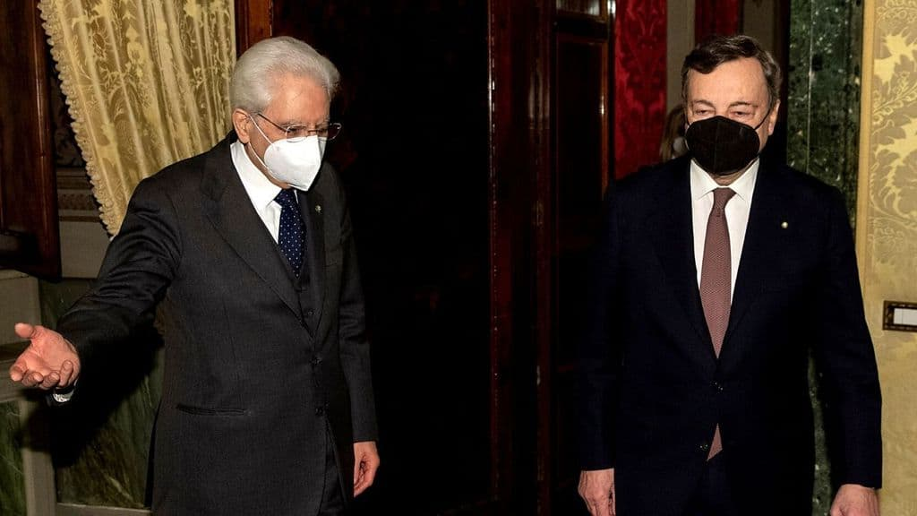 Sergio Mattarella e Mario Draghi