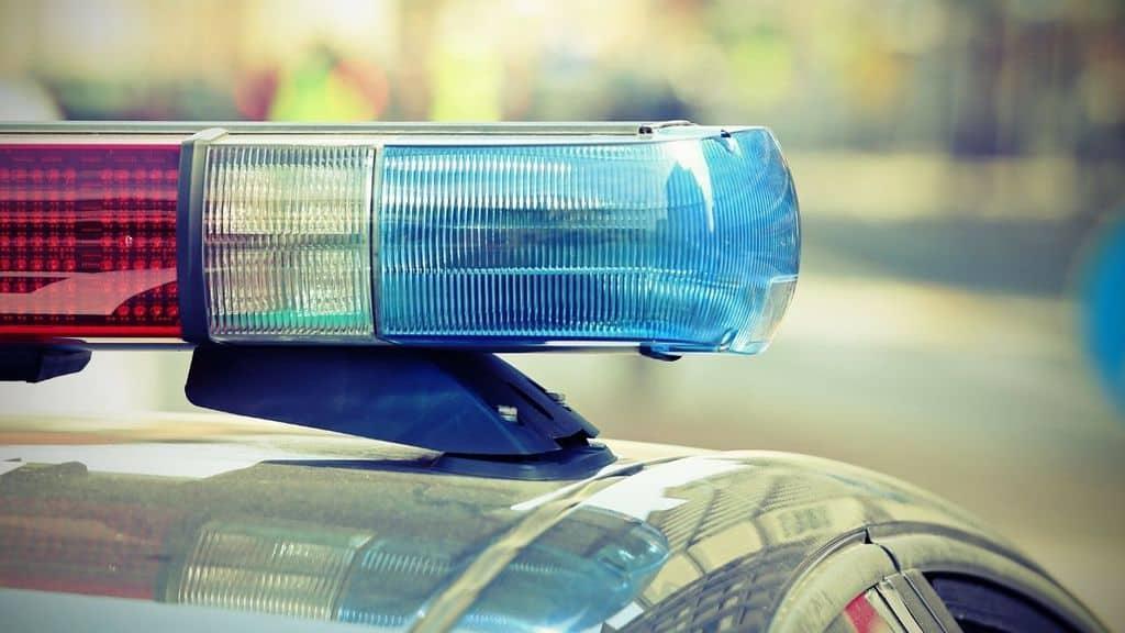 Sirene auto della polizia