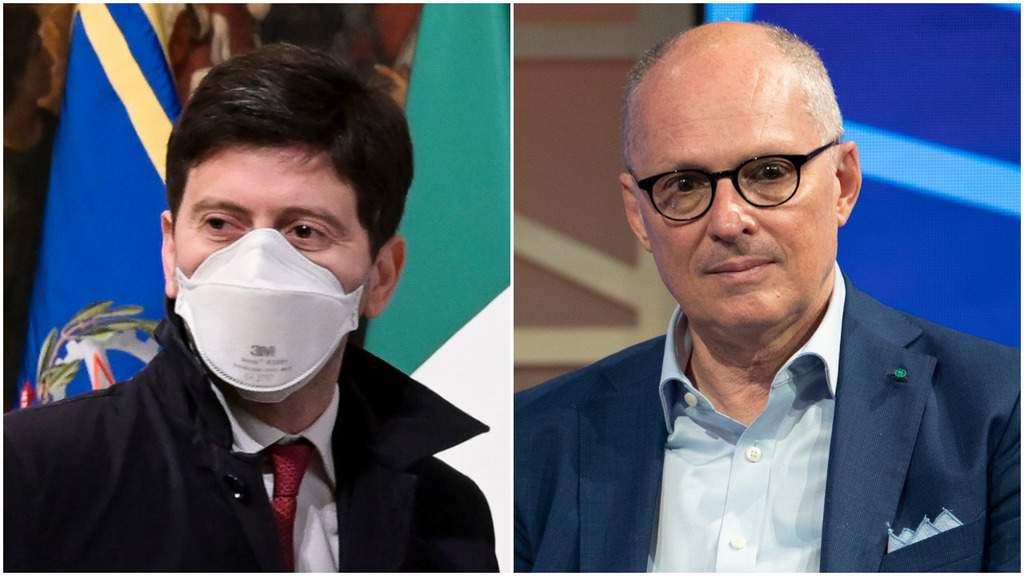 Roberto Speranza e Walter Ricciardi