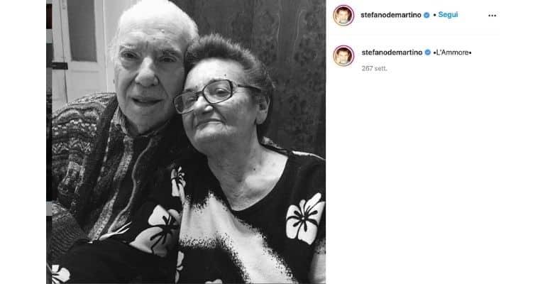 I nonni di Stefano De Martino