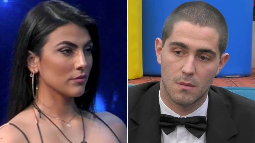 Giulia Salemi e Tommaso Zorzi al GF Vip