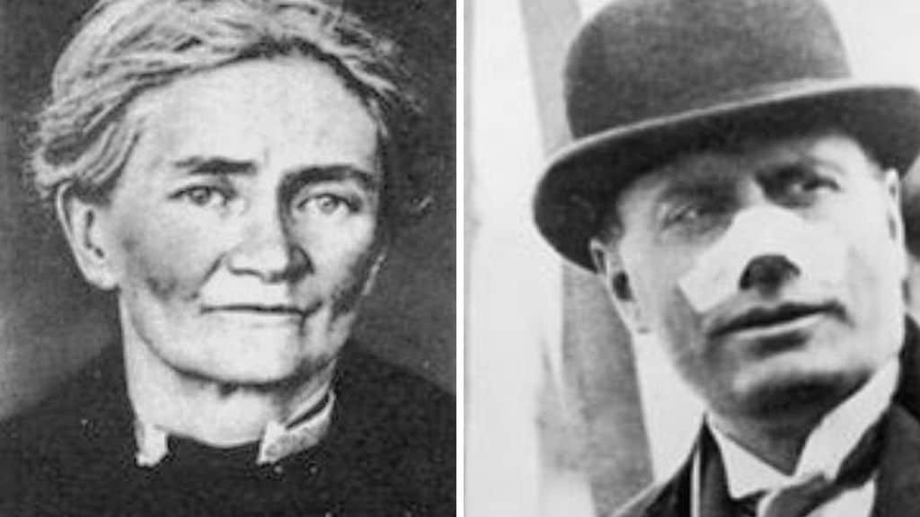 Violet Gibson e Benito Mussolini