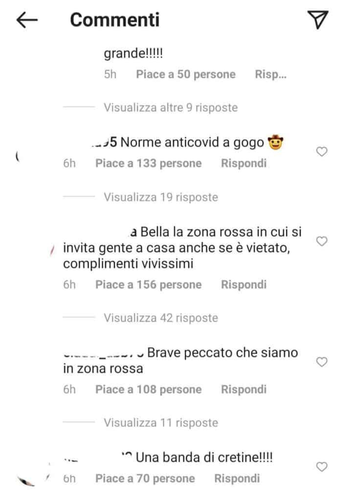 Commenti vs Belen e Cecilia