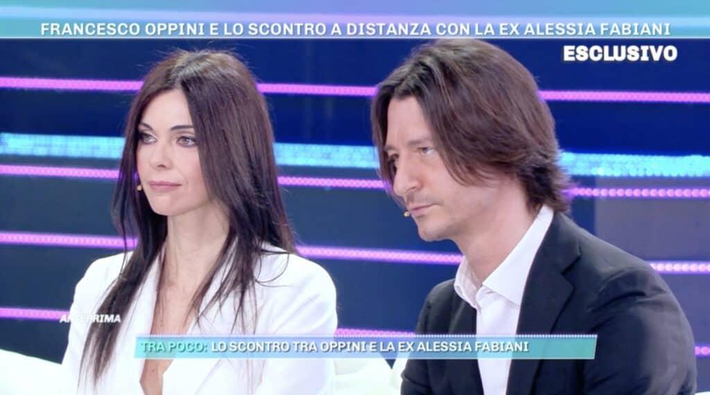Francesco Oppini e Cristina Tomasini a Domenica Live