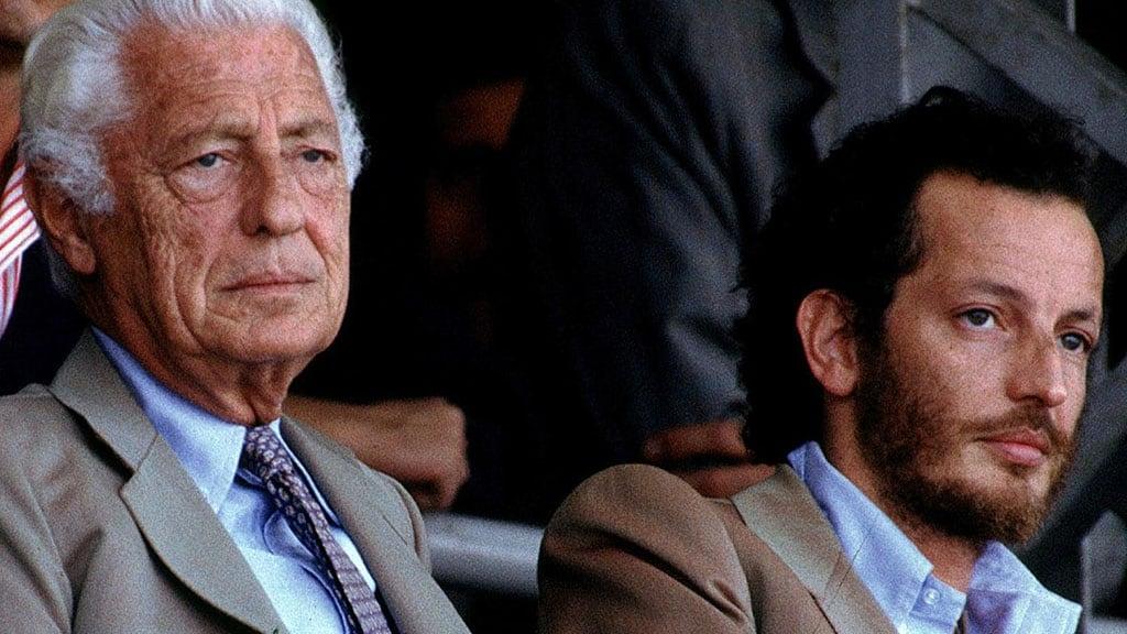 Gianni Agnelli e Edoardo Agnelli