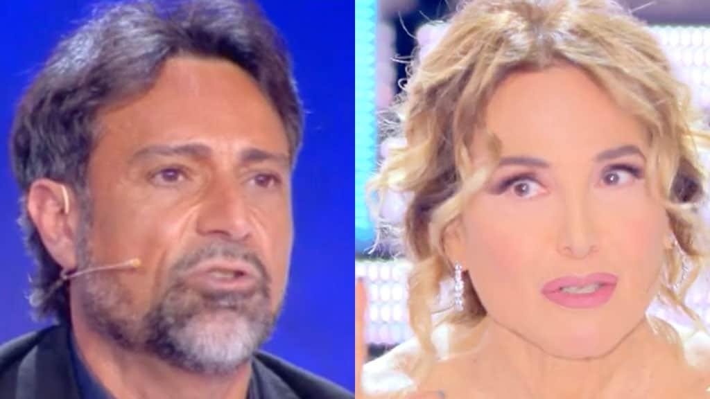 Pietro Delle Piane e Barbara d'Urso a Live - Non è la d'Urso