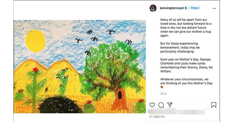 Post di Kensington Royal su Instagram