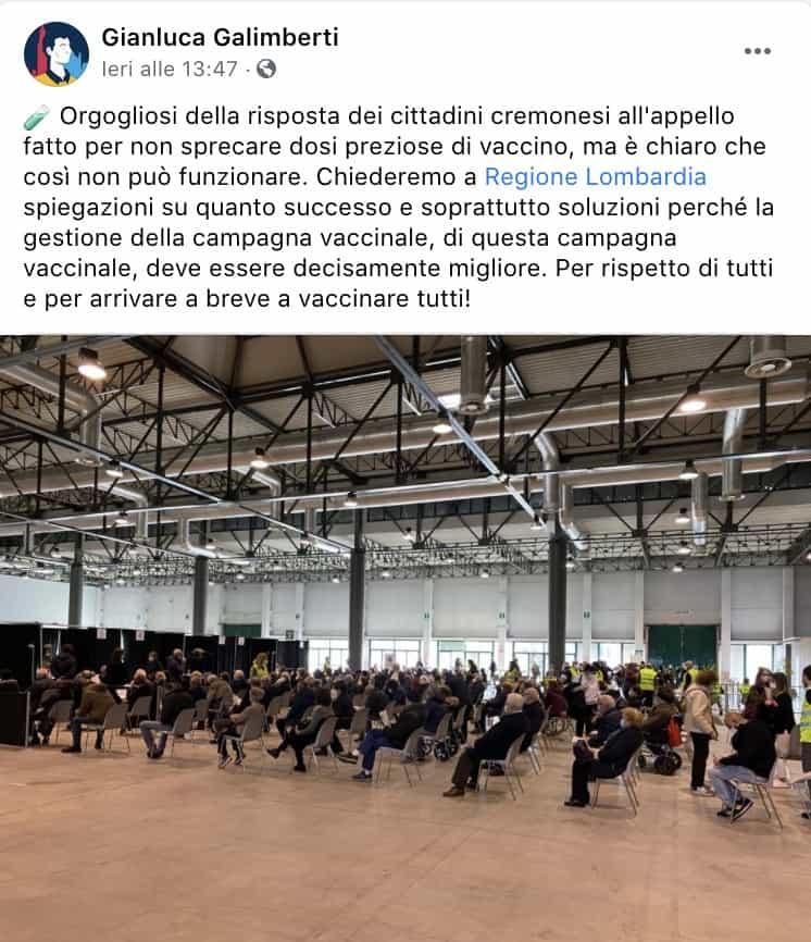 Post di Gianluca Galimberti
