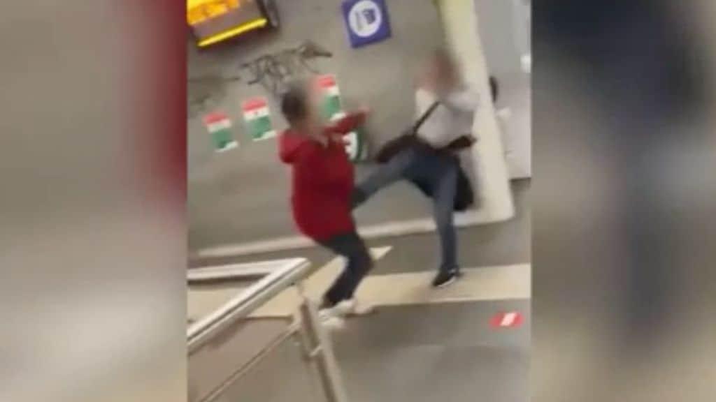 aggressione omofoba nella metro di roma