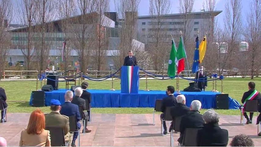 Mario Draghi a Bergamo
