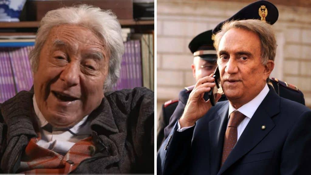 Enzo Spaltro e Emilio Fede