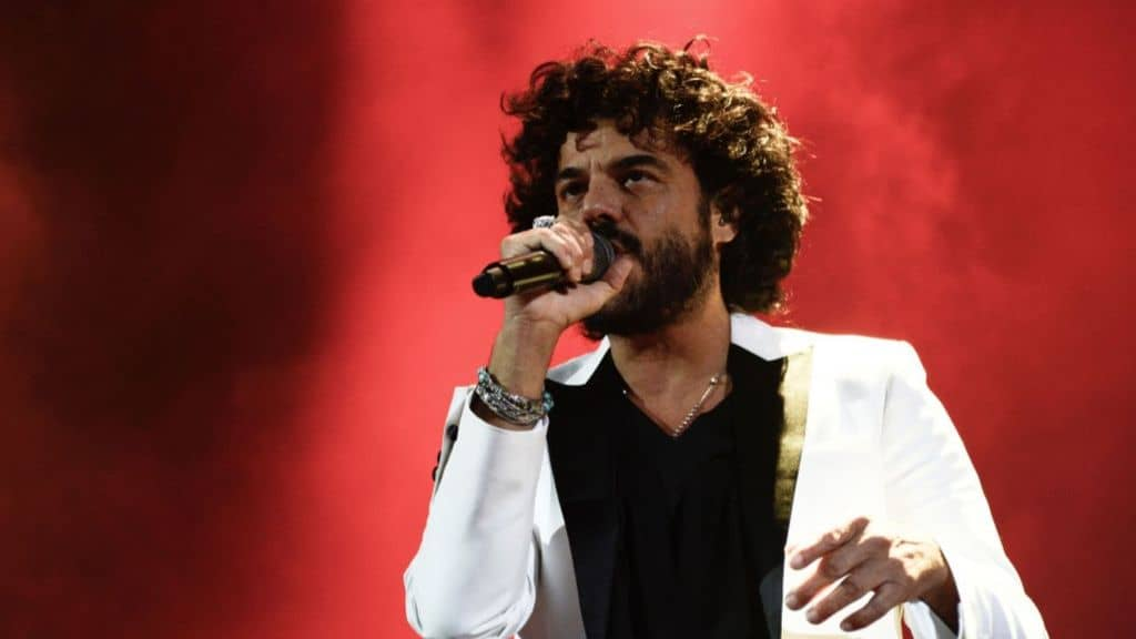 francesco renga all'ariston