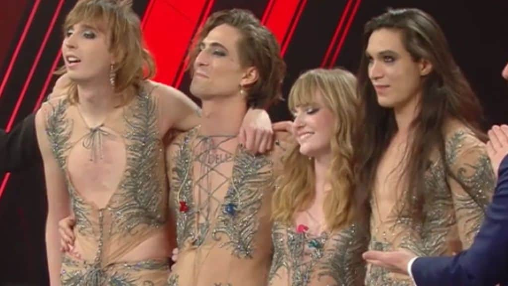 I Maneskin, vincitori di Sanremo