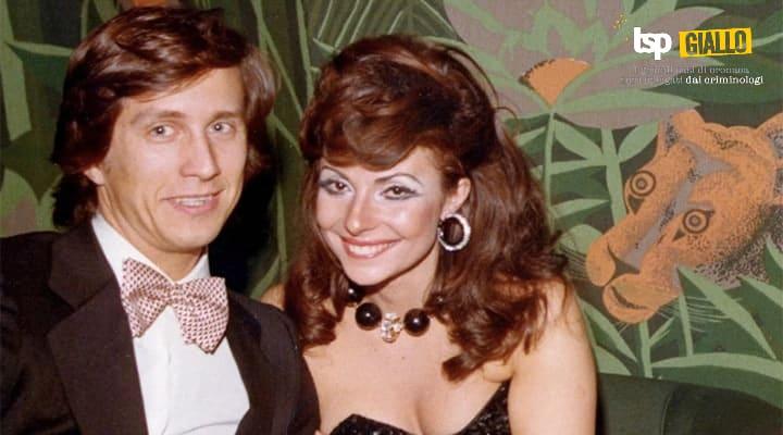 Maurizio Gucci con la moglie Patrizia Reggiani