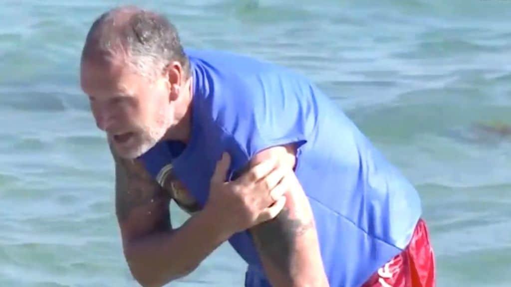 Paul Gascoigne resta all'Isola dopo l'infortunio?