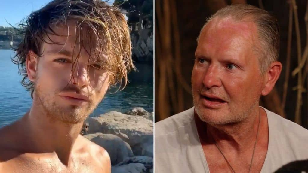 reazione di paul gascoigne al coming out del figlio regan