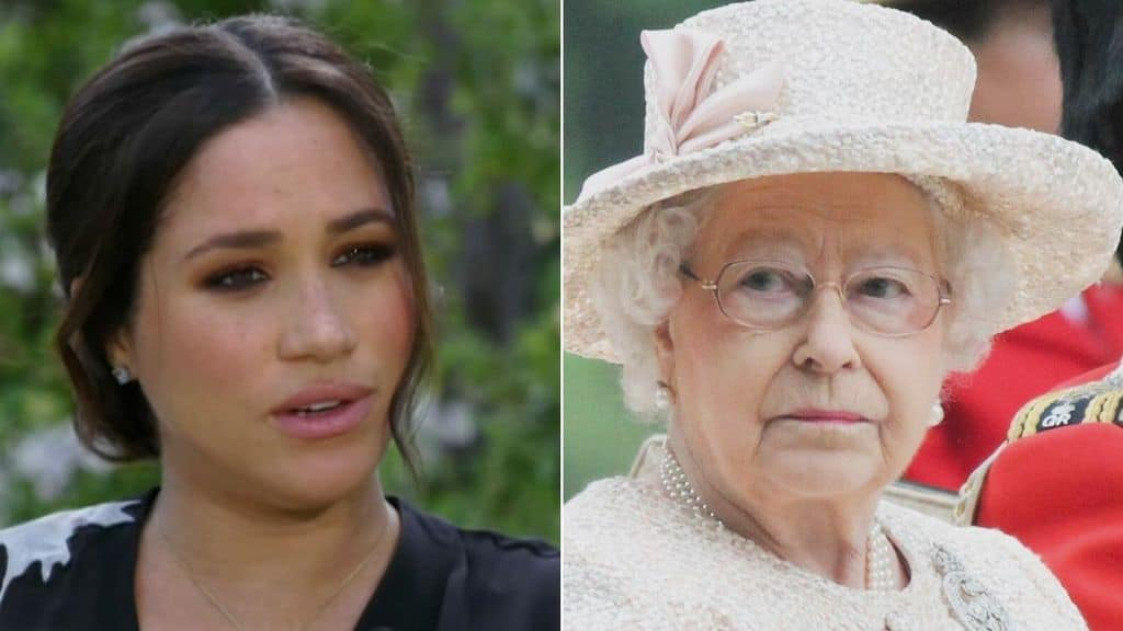 la regina elisabetta risponde alle accuse di razzismo di meghan markel