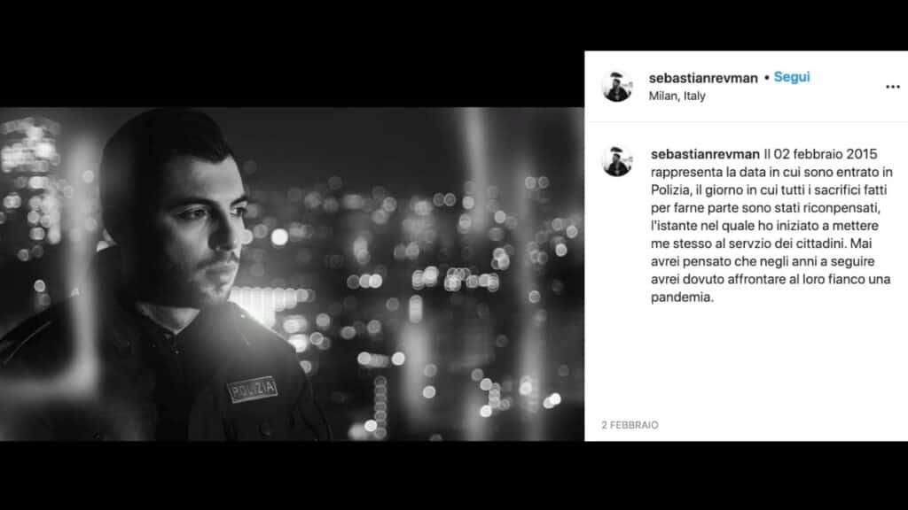 Sebastiano Vitale è Revman, il rapper-poliziotto: la storia e la nascita di una musica al servizio della giustizia