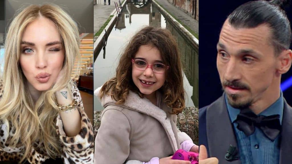 Vicky ha 7 anni e rischia di diventare cieca, per lei scendono in campo i vip: da Chiara Ferragni a Ibrahimovic, l'asta per aiutare a curarla