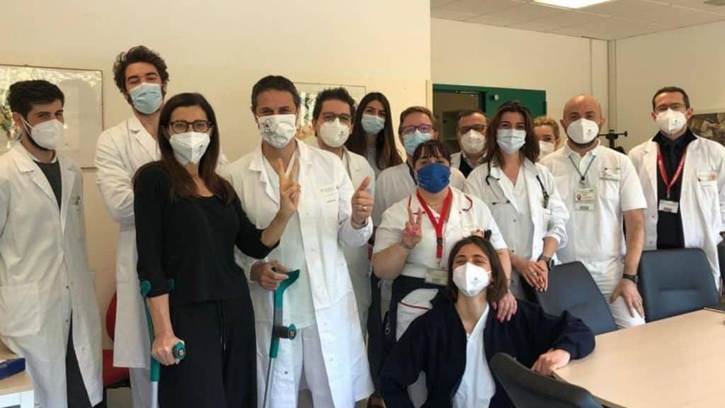 Laura Boldrini e il tumore al femore