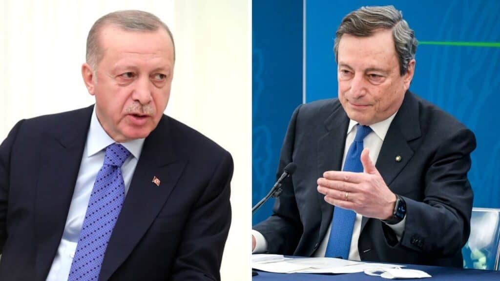 "Erdogan ""dittatore"" |  Turchia furiosa con Draghi convoca ambasciatore"