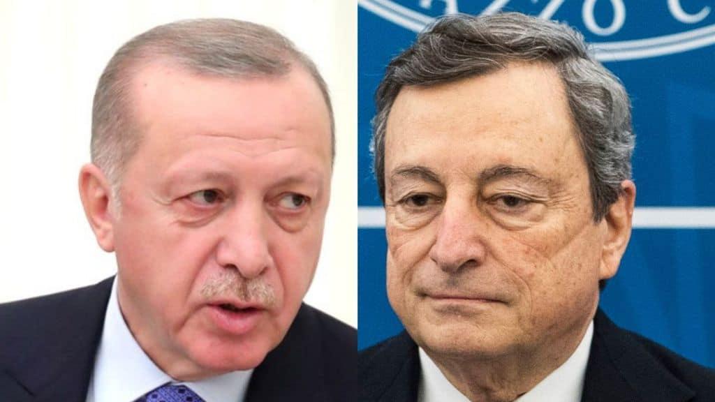Sofagate, Erdogan replica a Mario Draghi: