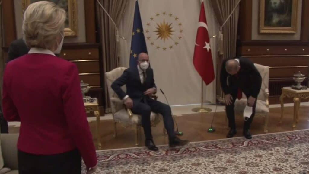 Sofagate, l'incidente diplomatico ad Ankara
