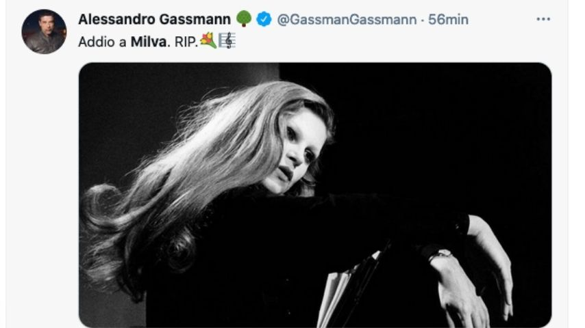 Alessandro Gassmann ricorda Milva